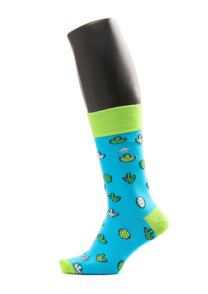 Cactus Design Socks