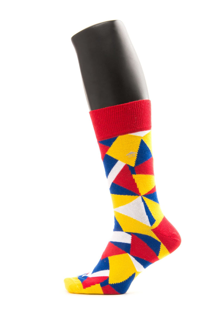 Geometric Designed Socks