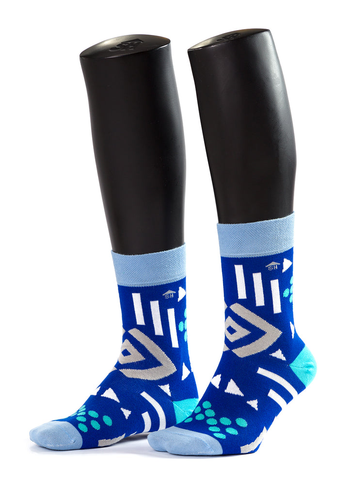Geometrical Shapes Design Socks