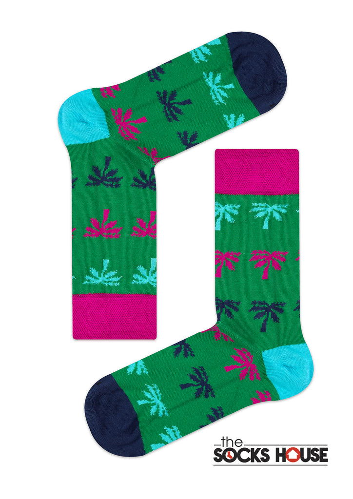 Palm Design Socks
