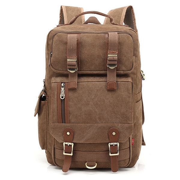 Canvas Multi-functional Travel 16 Inches Laptop Backpack