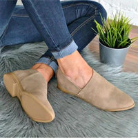 Classic Slip On PU Sandals Simple Comfort Shoes