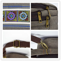 Vintage Casual Canvas Shoulder Bag Crossbody Bag