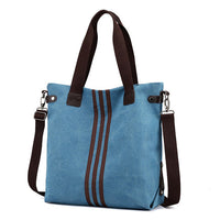 Women Canvas Large Capacity Handbag Leisure Crossbody Bag