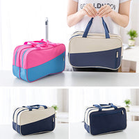 Waterproof Sports Travel Dry Wet Depart Storage Bag Wash Cosmetic Bag