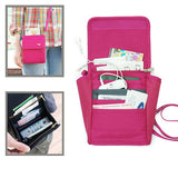 Card Holder Passport Bag Stylish Phone Bag Mini Crossbody Bag