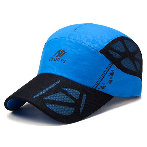 fd4fe2e2d6f31f Ultra-thin Breathable Quick-drying Baseball Cap Outdoor Net Hat