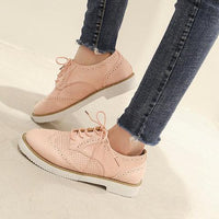 Casual Daily Lace-up Shoes Faux Suede Loafers