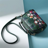 Bohemian Forest Series Crossbody Bag Print Flower Handbag
