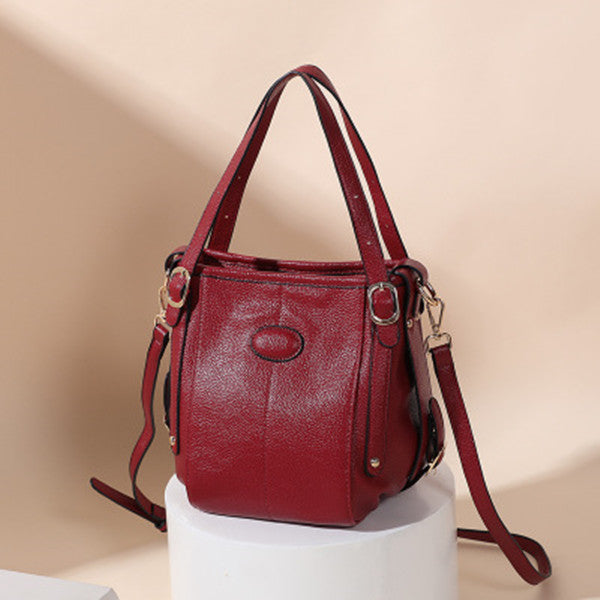 Genuine Leather Large Capacity Handbag Crossbody Bag