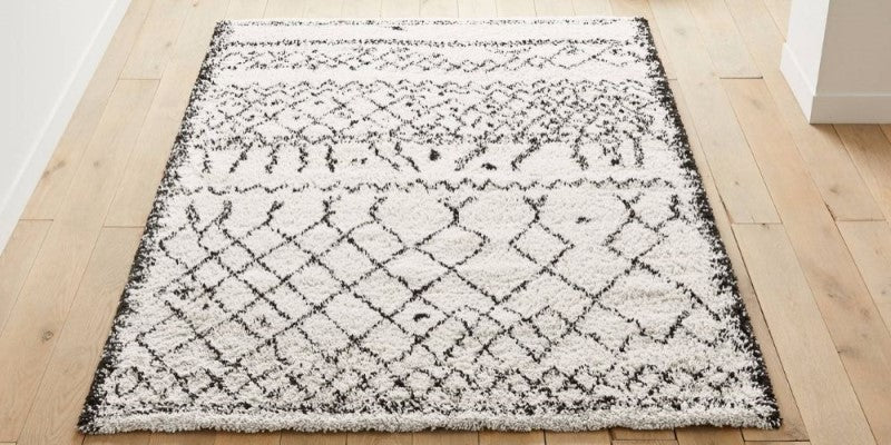 Image of a rug in a living room