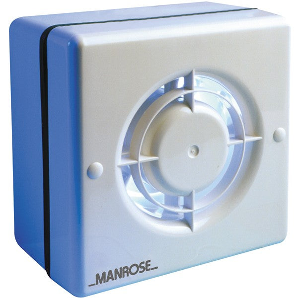 Manrose 100mm Axial Extractor Window Fan with Humidity Control - WF100H