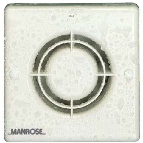 Manrose 100mm (4inch.) 12V Automatic Low Voltage Extractor Fan w/ Humidity & Timer Control - XF100HTLVT