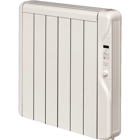 Elnur 750W (0.75kW) Oil Free Electric Radiators with Digital Control & Timer - RX6E PLUS