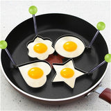 Stainless Steel Egg Molds - 4 Pcs
