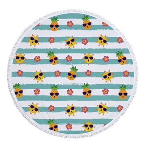 Round Beach Towel