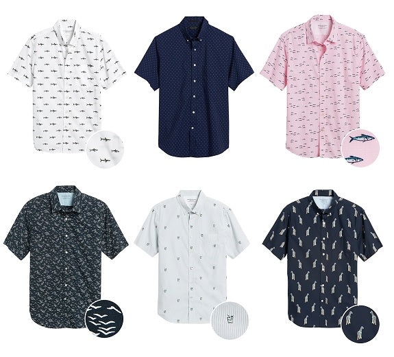 Monday Men's Sales Tripod – $24 BR Short Sleeve Print Shirts, Last Chance Under Armour Sale, & More