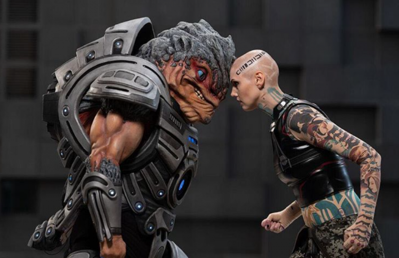 This Mass Effect Grunt Cosplay Keeps That N7 Day Love Going