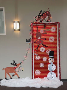 All Christmas Door Decorating Ideas