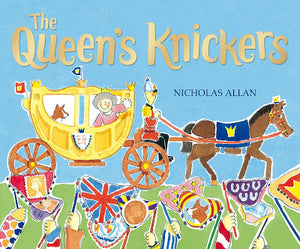 "#Booky100Keepers Day 5: ""The Queen's Knickers"" / ""Cinderella's Bum"" by Nicholas Allan (Red Fox Picture Books)"
