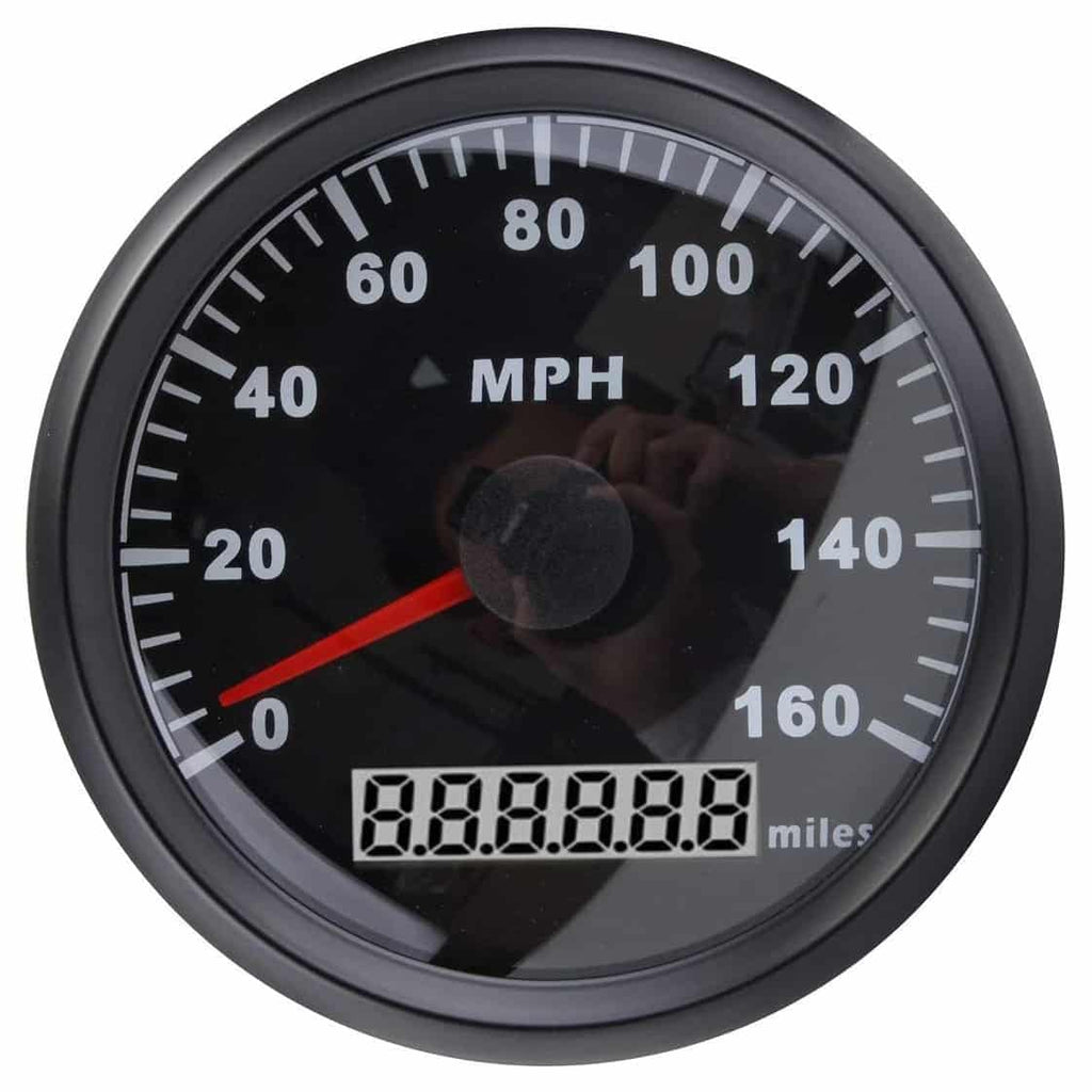 Primarily, a speedometer calculates the speed of a vehicle