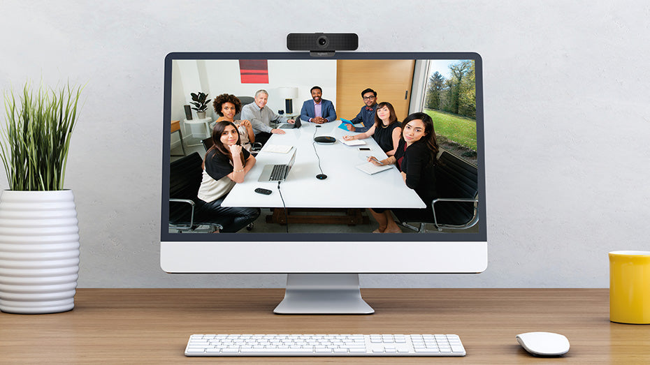 How to look your best for webcam meetings