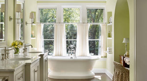How to Choose the Perfect Bathroom Window Curtains