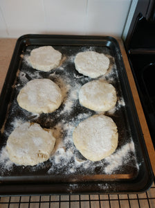 Make Simple Stove-top Gluten-free English Muffins