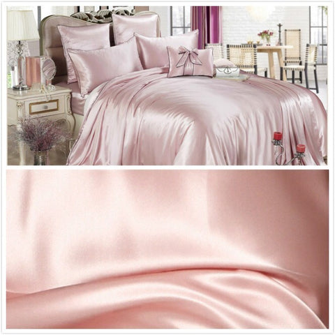 Enjoyable Pink Silk Sheets