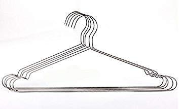 Zoomy Far: Stainless Steel Coat Drying Rack Clothes Hanger 42CM Clothes Hangers