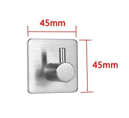 Great karcy 4pcs 3m waterproof self adhesive wall mounted hook made of 304 stainless steel