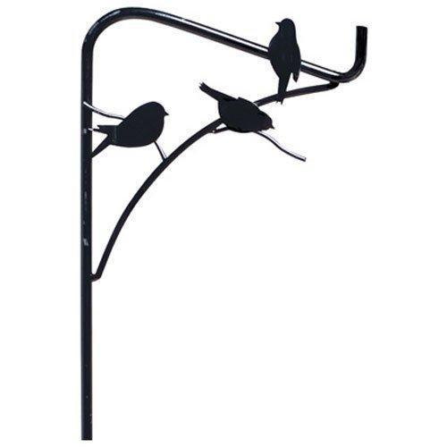 Discover panacea perching birds single shepherd hook 84 inch black