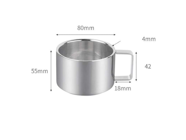 Explore lhfj 6 hooks mug holder cup hanger 304 stainless steel mug cup drying holder rack portable vertical kitchen cup mug organizer edition frame and 6 cups