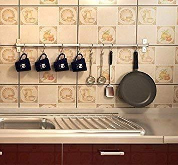 Amazon best unitendo multifunction towel rack hanger hanging rack pan pot rack kitchen utensils organizer racks for kitchen and bathroom accessories in 31 stainless steel with 15 hooks