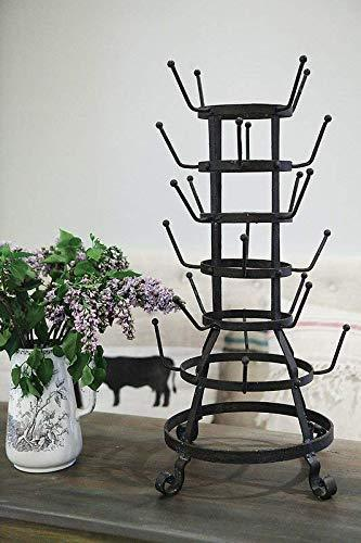 Latest laurel foundry modern farmhouse decorative metal zinc mug holder with 24 hooks basic design concepts expert guide