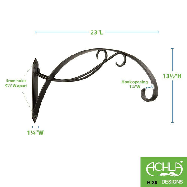 Shop for achla designs scroll wall bracket hook b 36