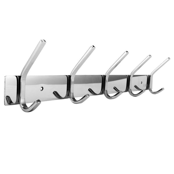 Save dosens coat hook rack wall mount sus 304 stainless steel hanger clothes hat holder 10 hooks 2 pack
