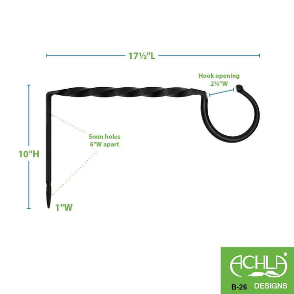 Order now achla designs jumbo bracket wall hook large b 26