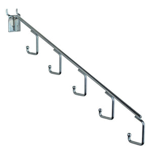 Order now azar displays 700860 five station waterfall faceout hook chrome 10 pack