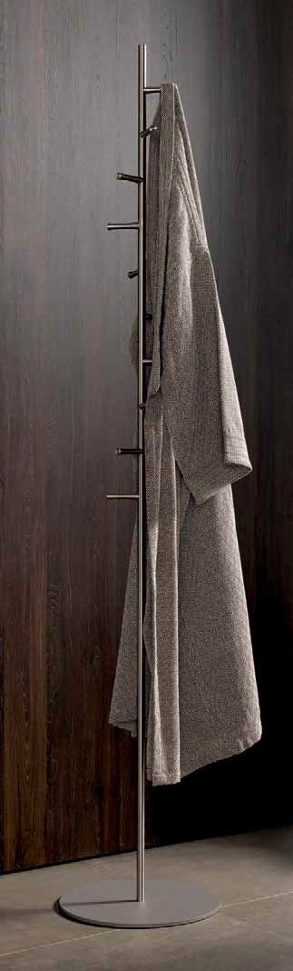 Top rated psba rotating coat rack stand hanger towel holder 10 hooks stainless steel matte