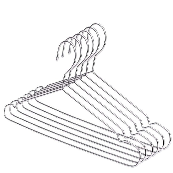 Xyijia Hanger Super Strong Stainless Steel Metal Wire Hangers Clothes Hangers, Coat Hanger, Suit Hanger (30Pcs/Lot)