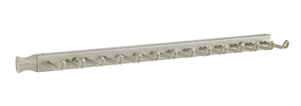Storage closetmaid 38053 14 hook tie belt rack nickel