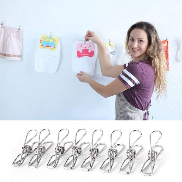 Explore chip clips chip clips for bags all purpose air tight seal good grip clips cubicle hooks for office school home kitchen 20 pack 6cm