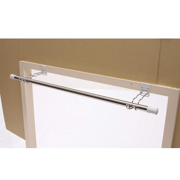 Exclusive easy to install indoor drying hooks picture rail hooks easy to install set of 2 color silver