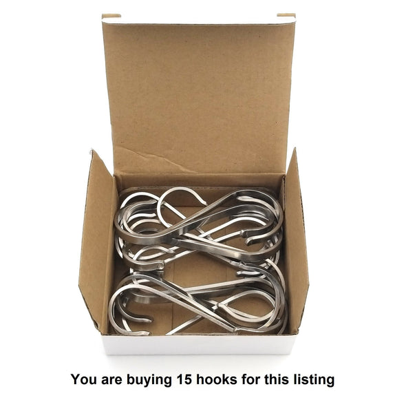 Save on eeze rack st fsh 02 304 stainless steel all purpose flat s utility hook x large 15 pack
