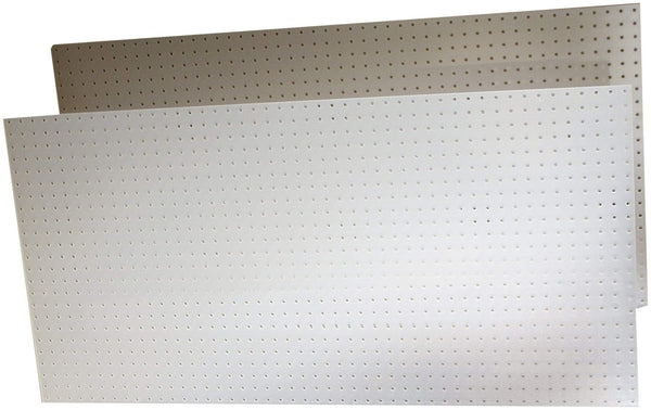 The best triton products 018 kit duraboard 2 22 inch w x 18 inch h x 1 8 inch d white polypropylene pegboards with 22 pc durahook assortment and wall mounting hardware