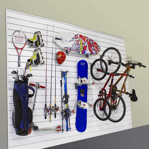 Selection proslat 11005 sports equipment steel hook variety kit designed for proslat pvc slatwall 13 piece