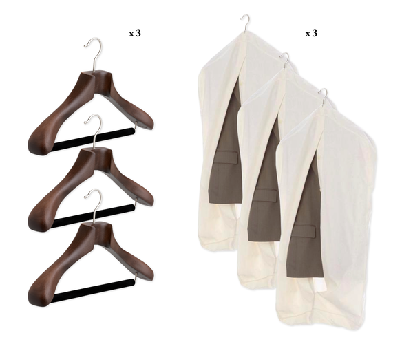 Garment Covers & Tailor Made® Hangers Gift Package