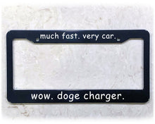 Load image into Gallery viewer, DOGE CHARGER | License Plate Frame