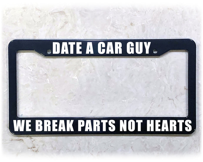 DATE CAR GUYS | License Plate Frame
